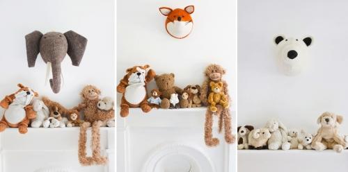 Gyvūnai vaikų kambaryje
