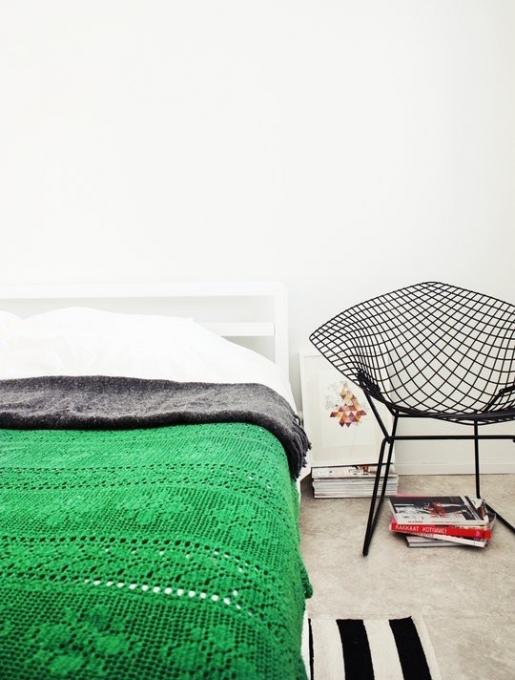 kėdė miegamajame