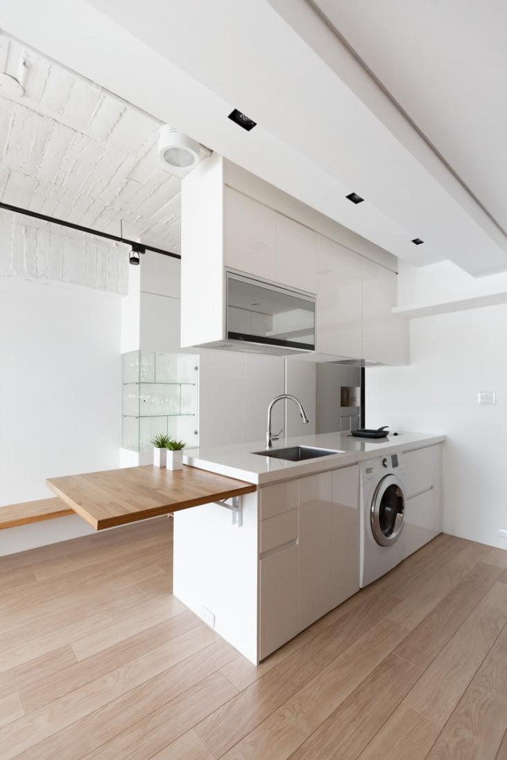 nedidelė talpi virtuvė