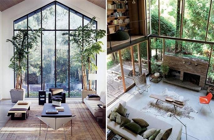 namas dideliais langais