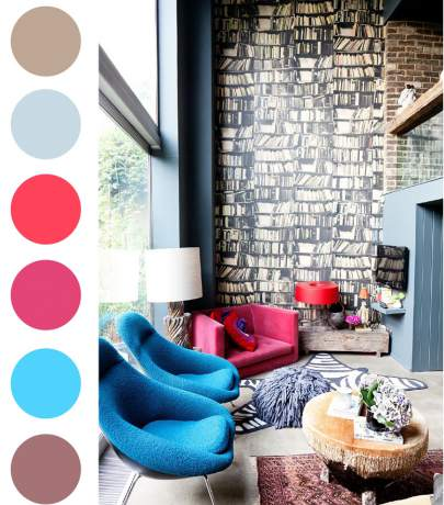 Color palette - mood board