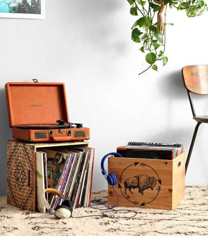 Vinyl records storage ideas