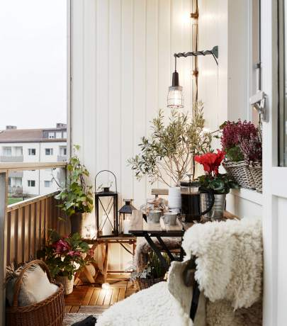 Open balcony ideas