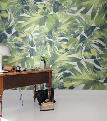 Tropical interior is a new 2016 interior trends