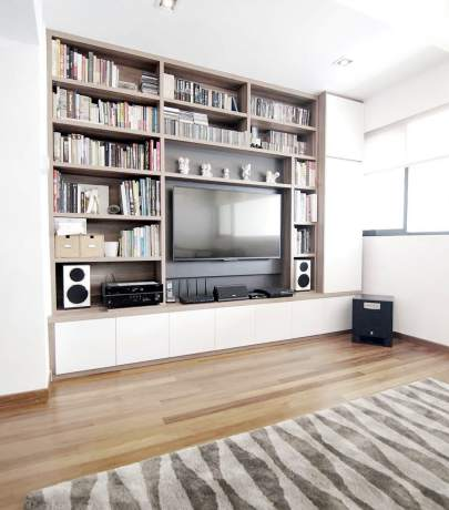 15 ideas for TV in interior
