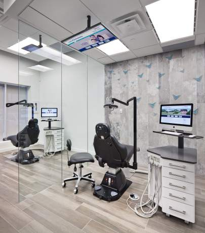 Clinic's interior design