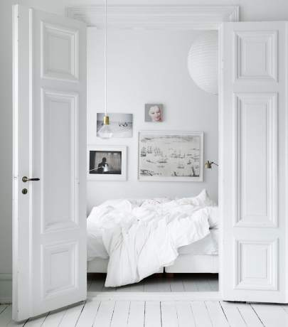 White interior - bright home