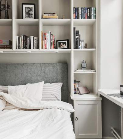 4 tips for small bedroom
