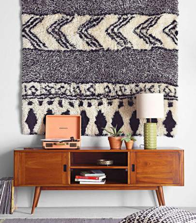 Carpets on the walls are trendy again!