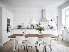 a kitchen without upper cabinets is probably impossible in small spaces unless its produced very rarely therefore its a very unusual view irritating - Kitchen Without Upper Cabinets