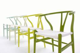 Wishbone chairs
