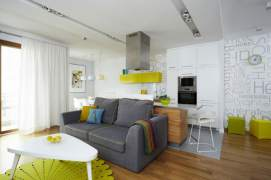 Contemporary apartment interior