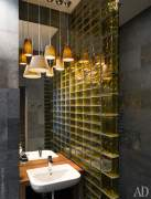 Glass blocks interior ideas