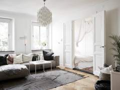 Cosy small Scandinavian style apartment
