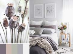 Interior color palette. Inspiration from nature.