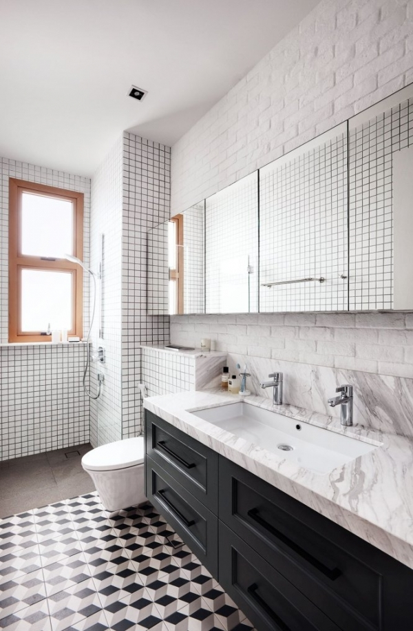 bathroom floor tiles singapore 3 tips how to mix and match tiles in bathroom viskas 15934