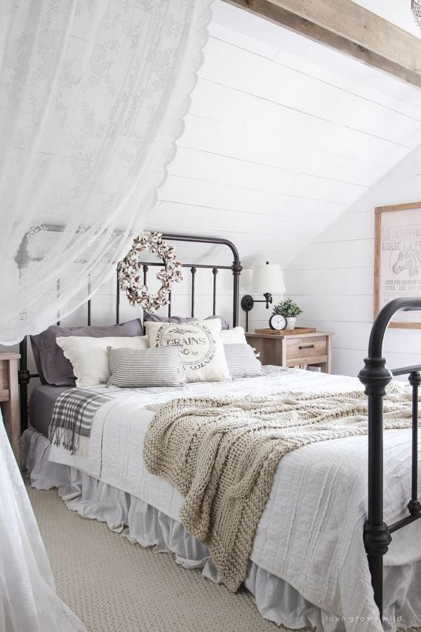 Iron Bed In Bedroom