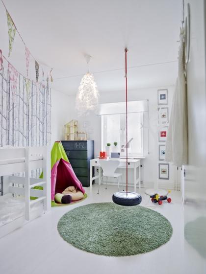 Vaikų kambario idėjos