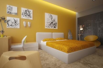 Geltona spalva