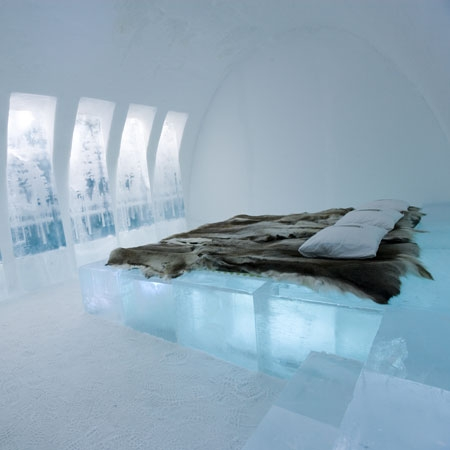 bedroom from ice
