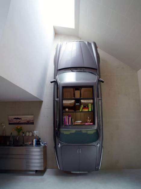 upside down interior