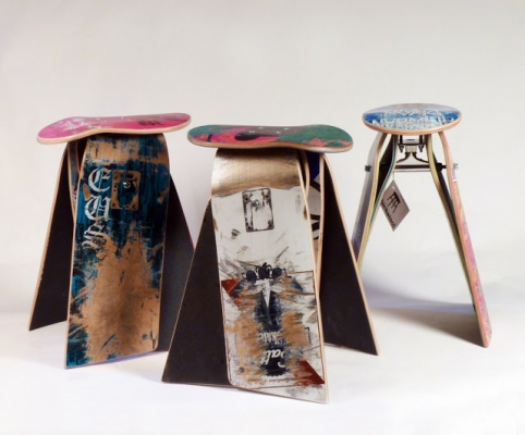 furniture from skateboard