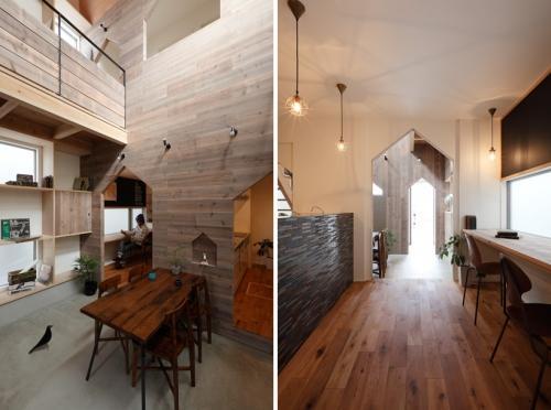 durų anga namo formos