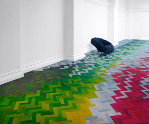 colourful floor