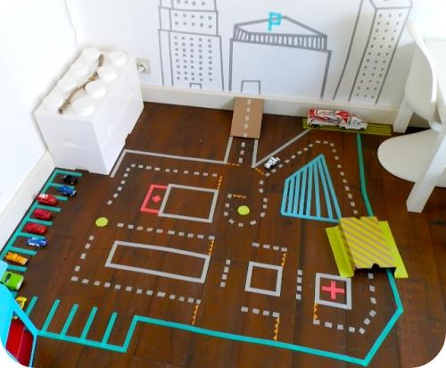 idėjos vaikų kambariui