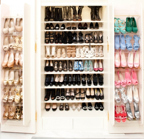 shoes wardrobe
