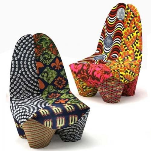 african texture sofa