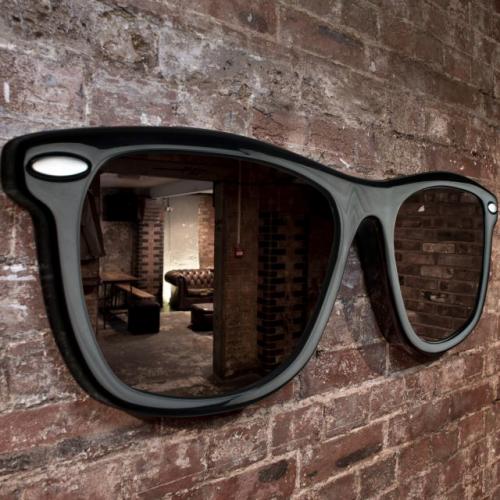 veidrodis - akiniai