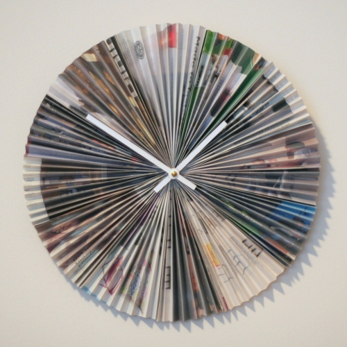 recycled clock