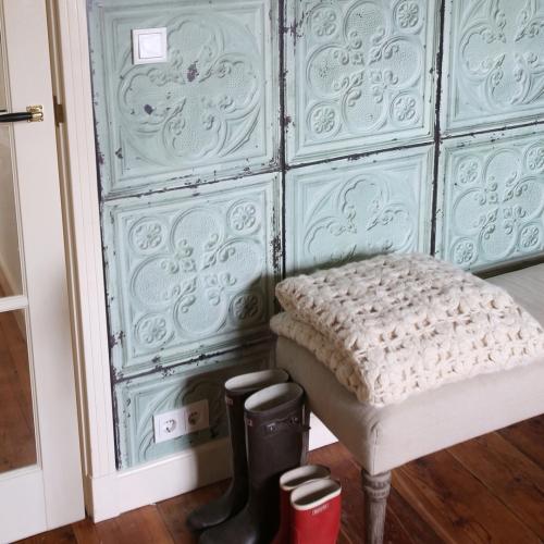 soft blue tiles