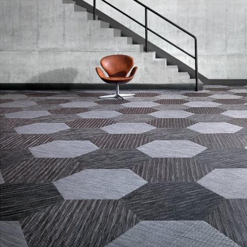šešiakampiai ant kilimo