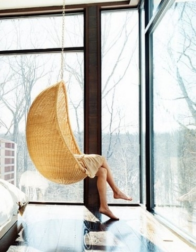hammock chair in room