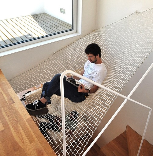 hammock net at home