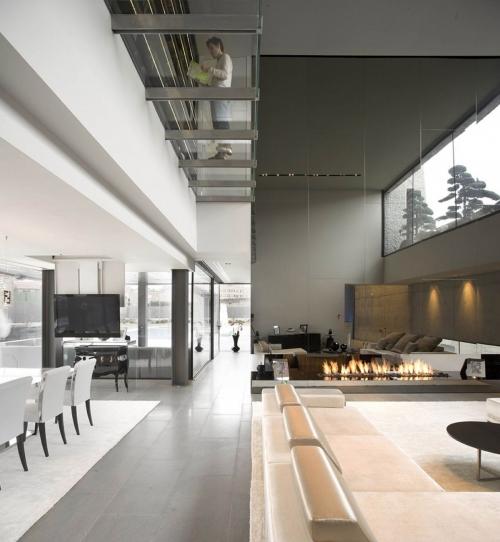 transparent floor
