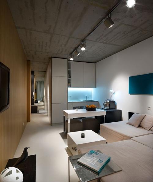 modernus mažas butas