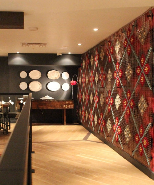 restaurant walls ideas