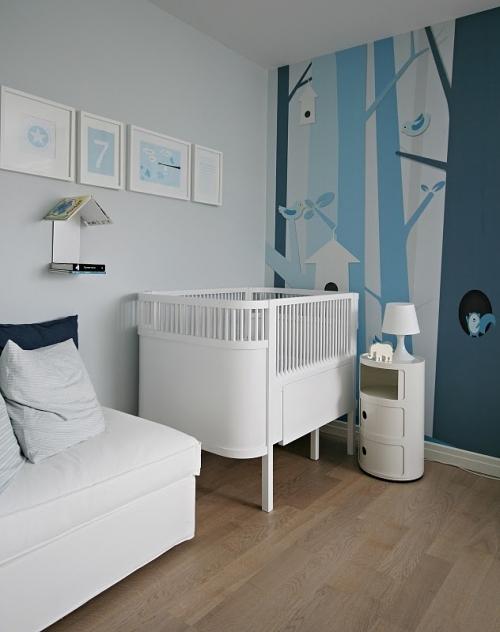kūdikio kambario interjeras