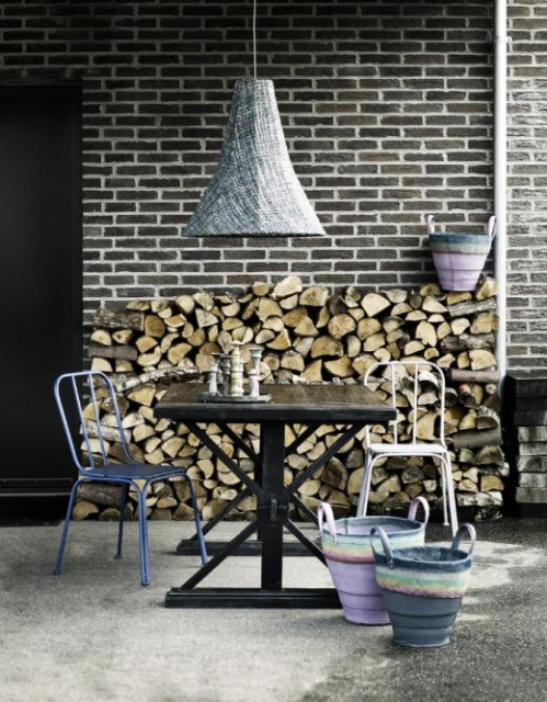 logs decor