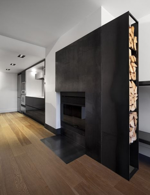 modern solution for fireplace