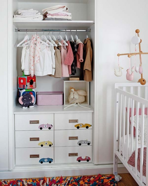 closet room for a child