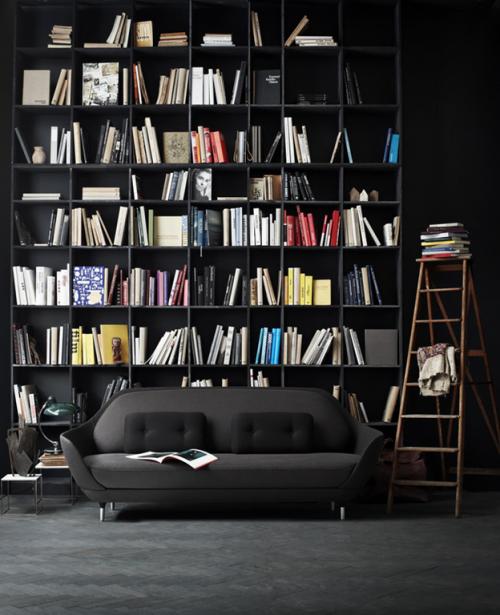 knygos per visą sieną