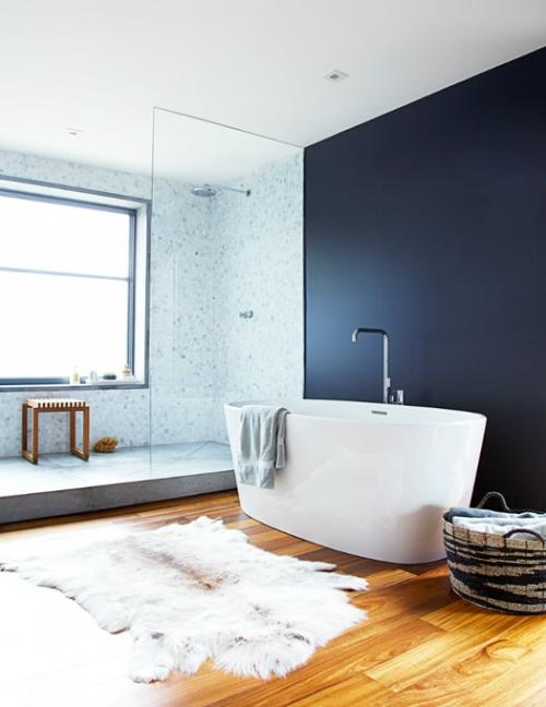 modernus vonios interjeras