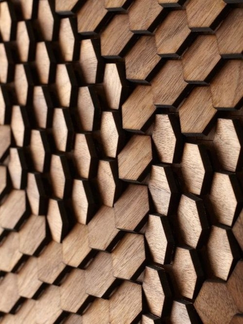 wall pattern hexagon