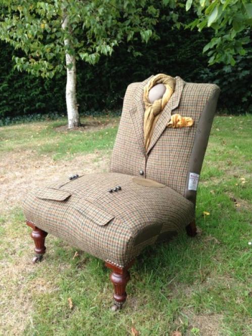 armchair - suit
