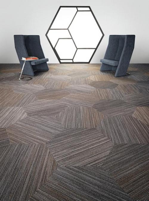 geometrinių figūrų kilimas