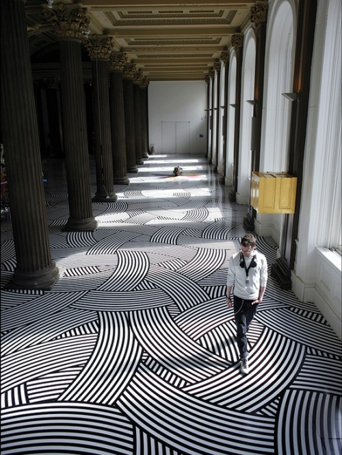 patterned floor